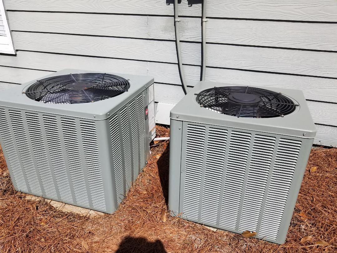 Kennesaw, GA - Performed A.C. Maintenance on 2 Ruud Condensing Units.  Kennesaw