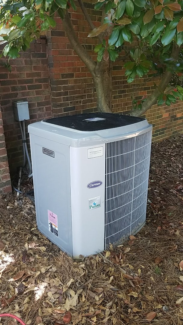 Atlanta, GA - Annual cooling service on 1 Carrier Infinity air conditioner.