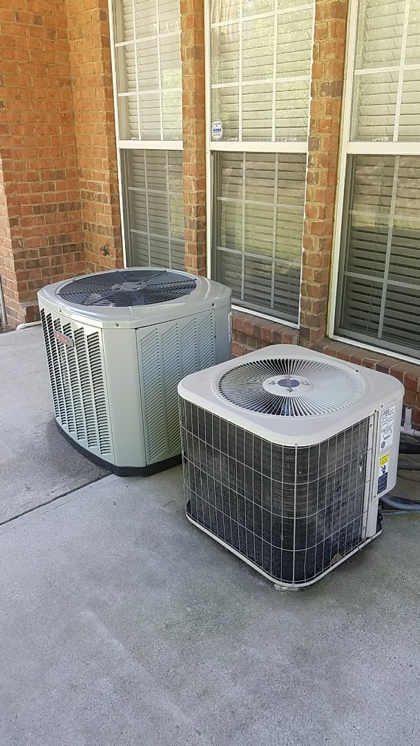 Smyrna, GA - Annual cooling service on 2 air conditioners.