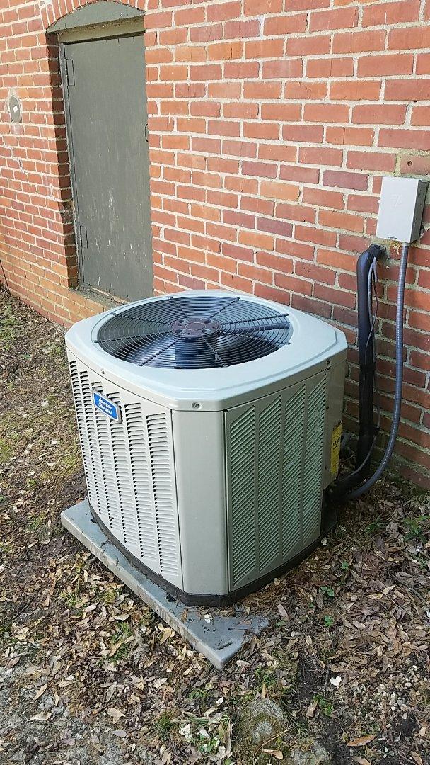 Atlanta, GA - Annual cooling service on 1 American Standard air conditioner.