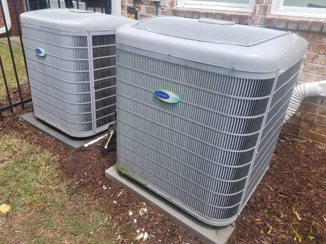 Atlanta, GA - AC Tuneup on 2 Carrier Cooling System(s)