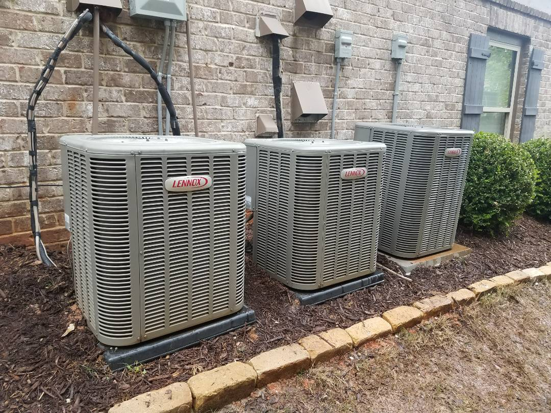 Smyrna, GA - AC Tuneup on 3 Lennox Cooling System(s)