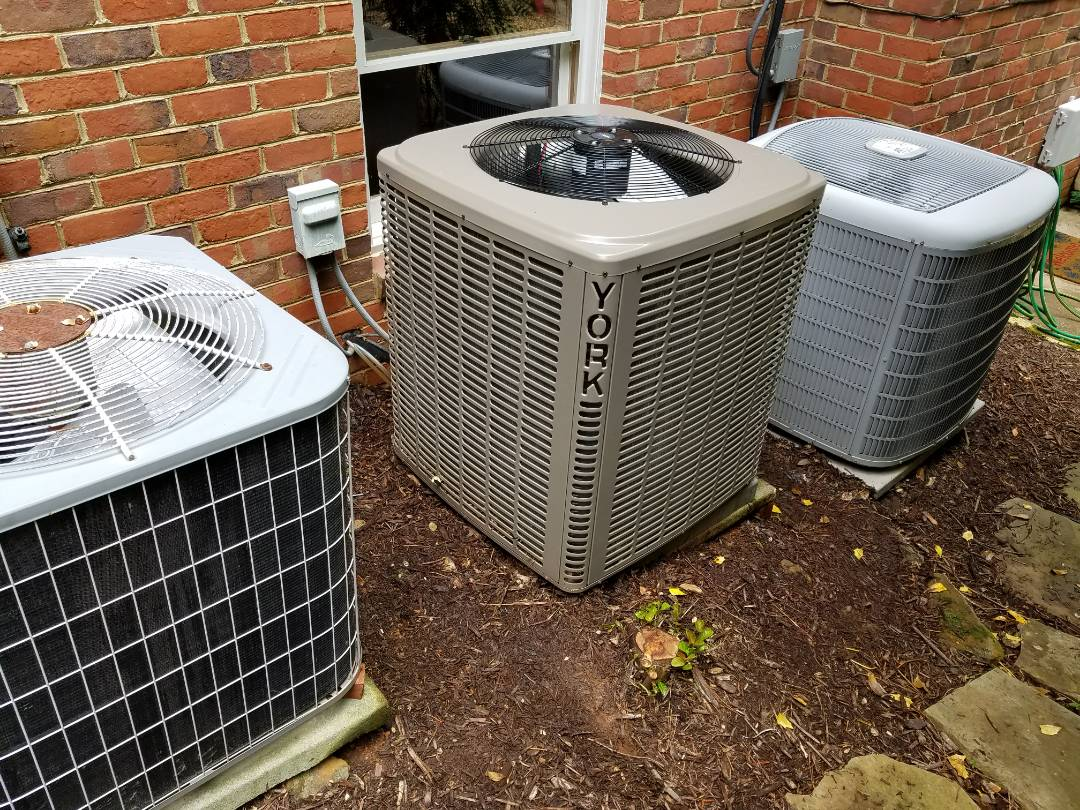 Powder Springs, GA - Performed A.C. Maintenance on 2 Carrier, Nordyne and a York Condensing Units. Powder Springs