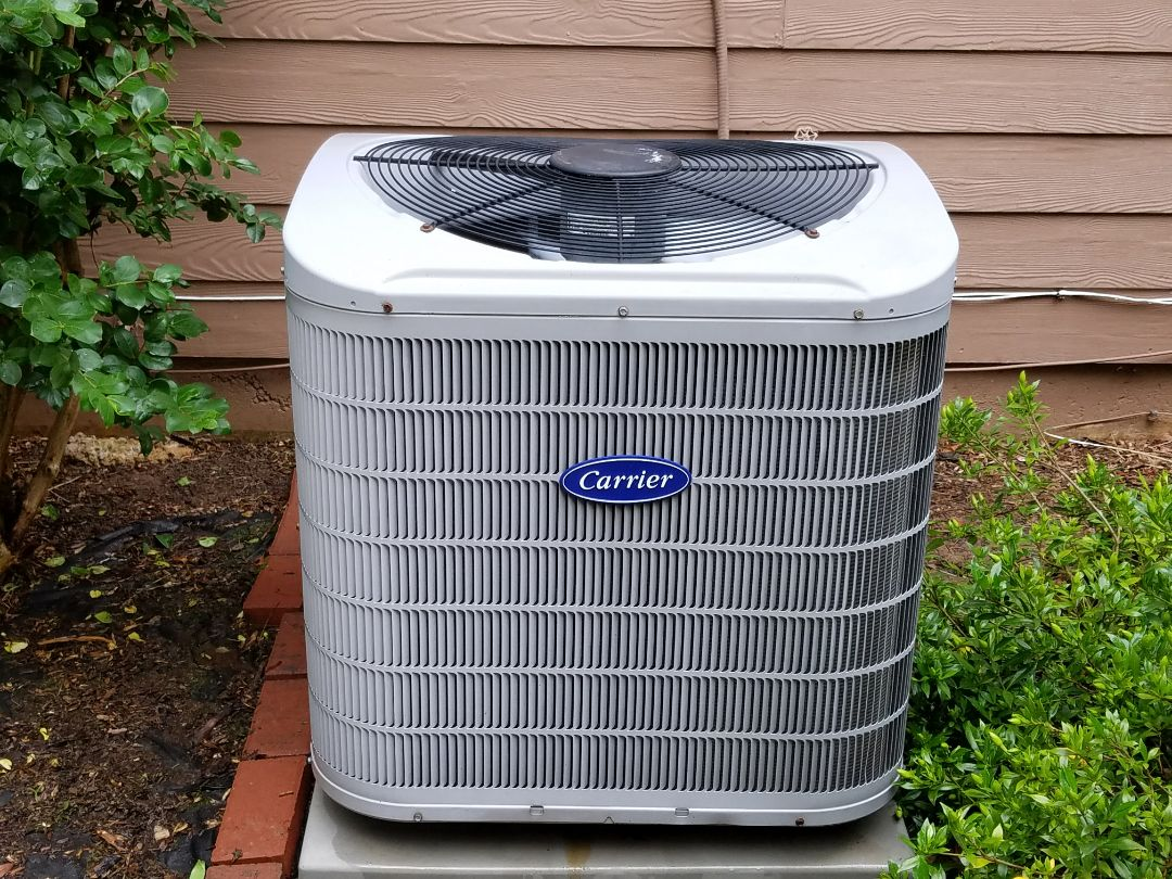 Kennesaw, GA - Performed A.C. Maintenance on a HIGH Efficiency Carrier Condensing Units. Kennesaw