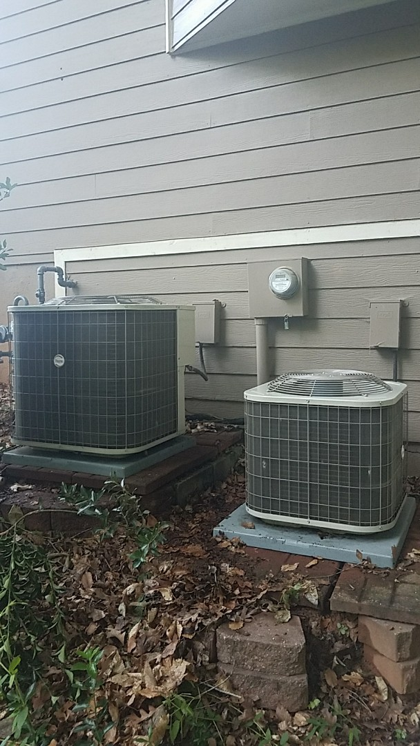 Marietta, GA - Annual cooling service on 2 Payne air conditioners.