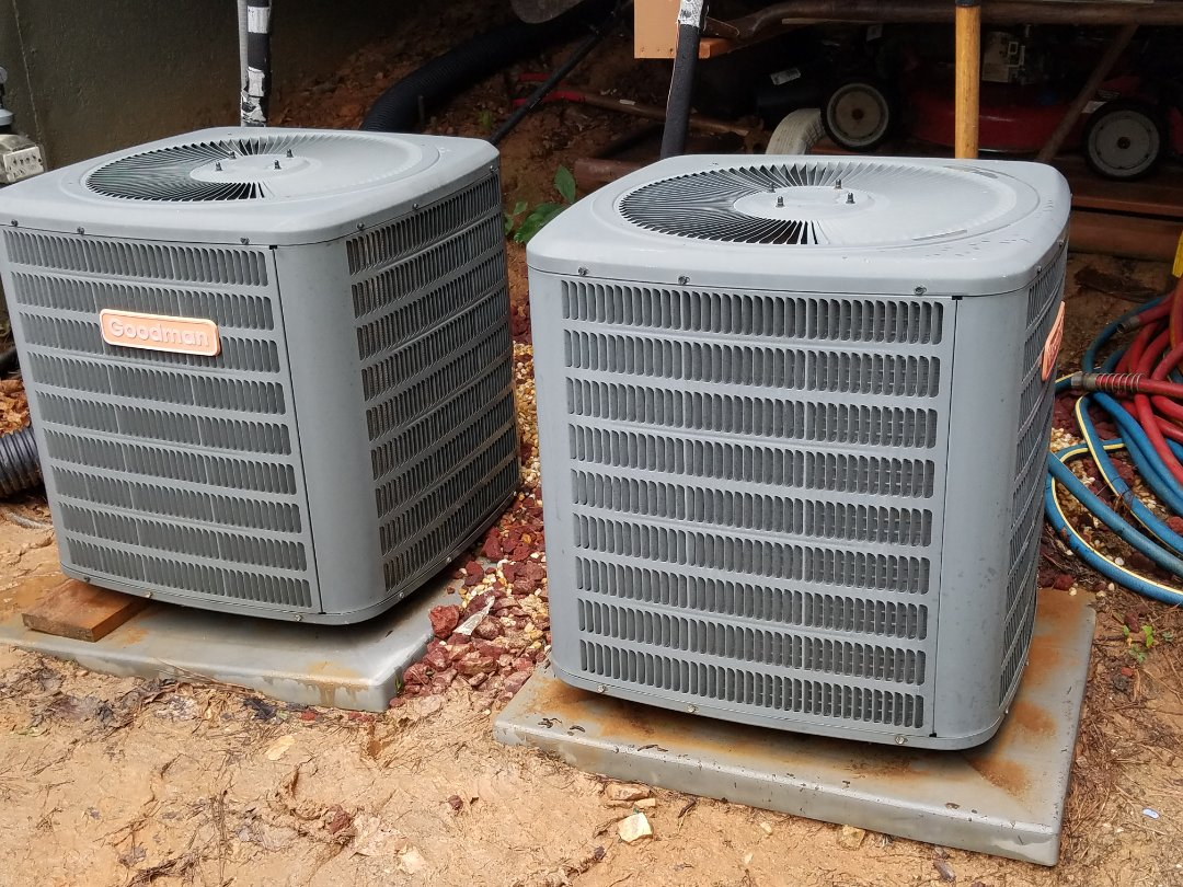 Acworth, GA - Performed AC Maintenance on 2 Goodman CU. Acworth