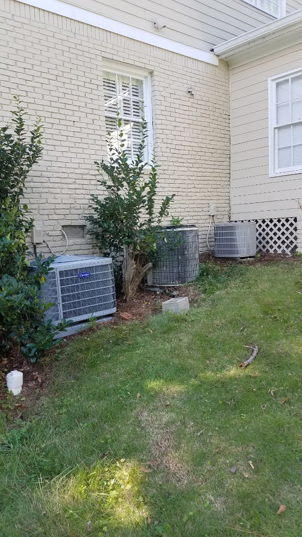 Atlanta, GA - Annual cooling service on 3 air conditioners.
