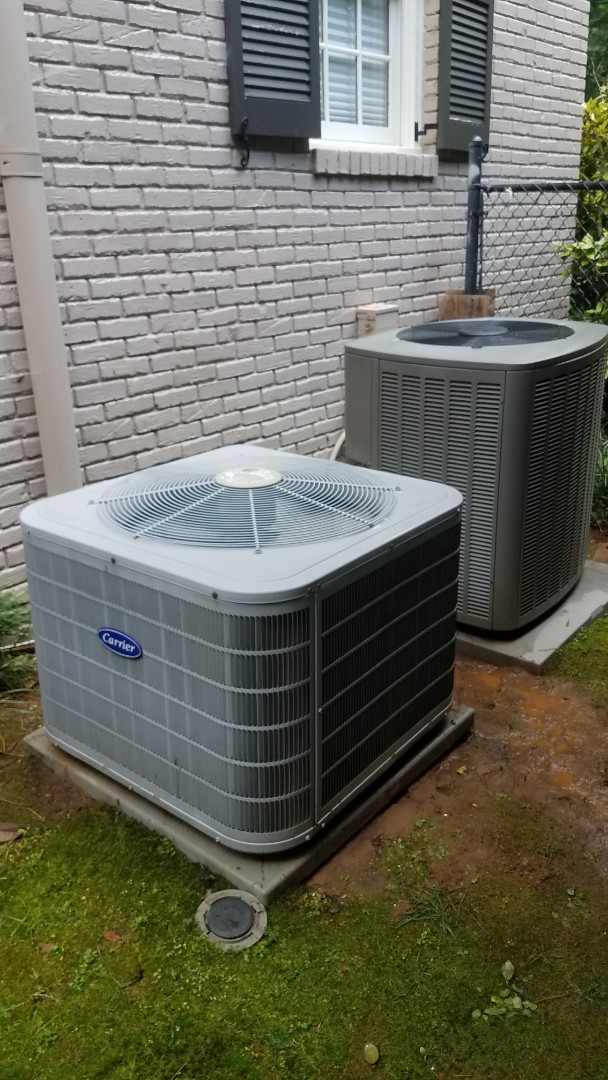Atlanta, GA - Annual cooling service on 2 air conditioners.