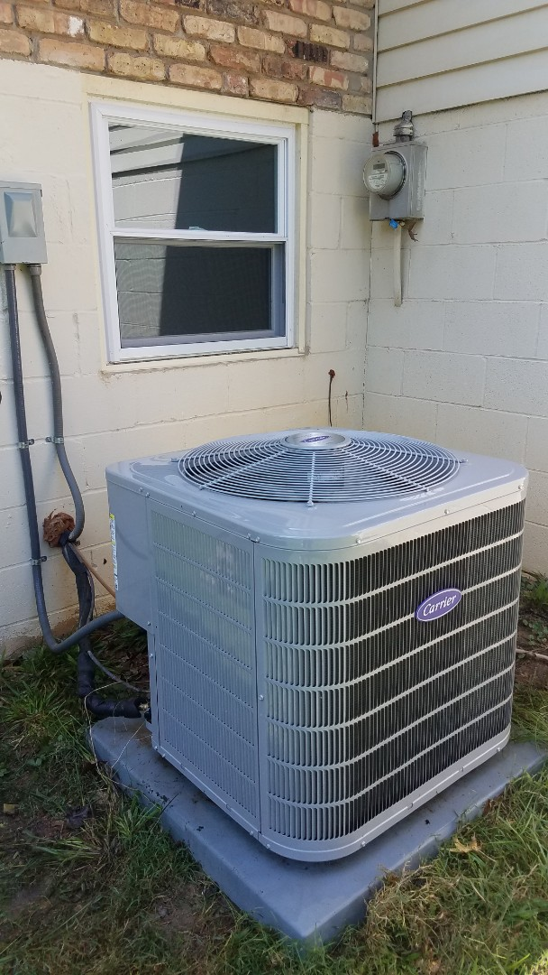 Smyrna, GA - Annual cooling service on 1 Carrier air conditioner.