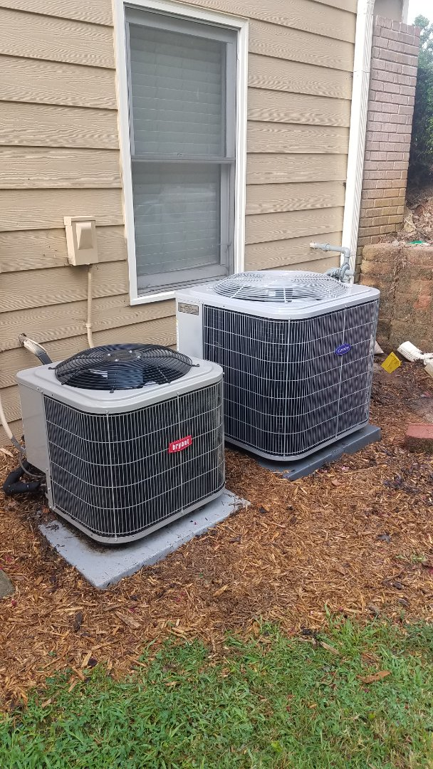 Marietta, GA - Annual cooling service on 2 air conditioners.