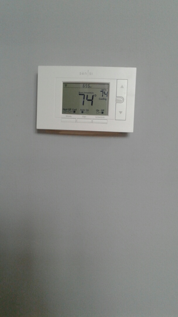Sandy Springs, GA - Thermostat replacement in Atlanta