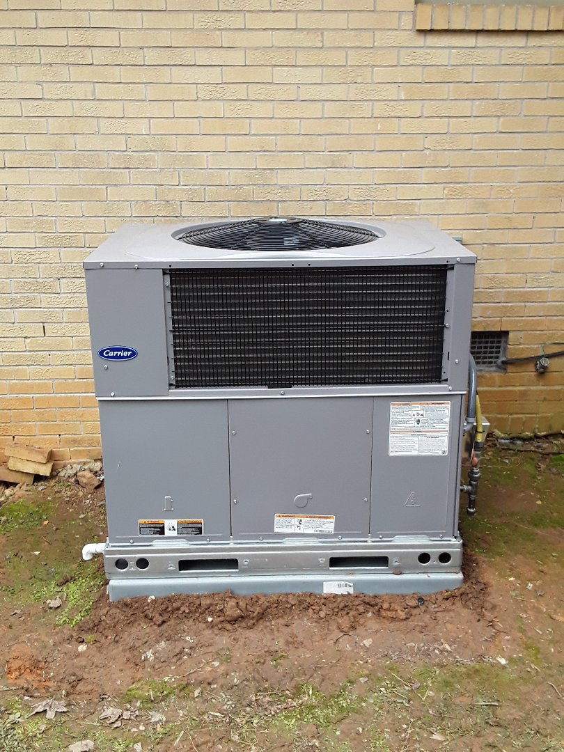 Mableton, GA - Installed new Carrier Package unit
