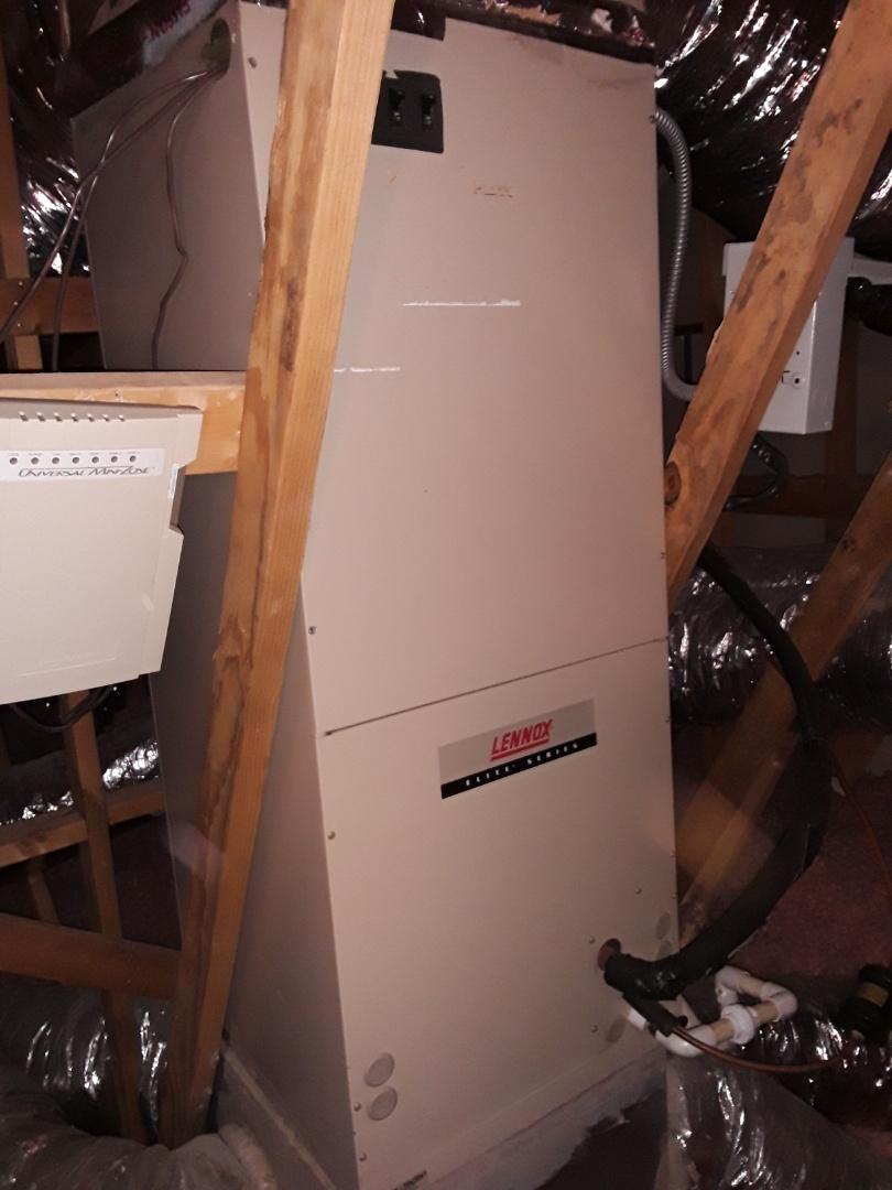 Mableton, GA - 1 System heat tuneup on Lennox air handler