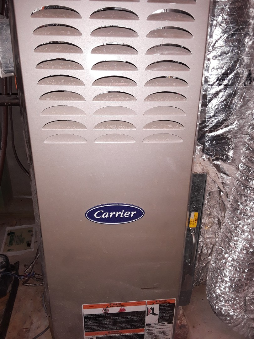 Mableton, GA - Heat tuneup on carrier furnaces and air handlers