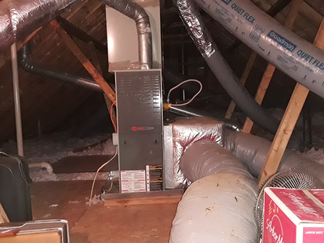 Kennesaw, GA - Performed Heat Maintenance on 2 Carrier Furnaces. Acworth
