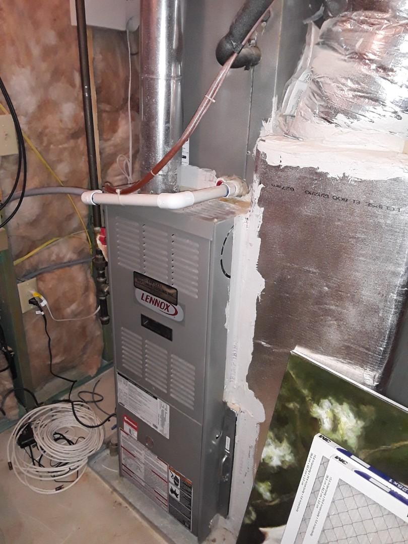 Smyrna, GA - Heat maintenance on 3 Lennox furnaces