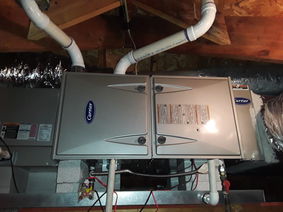 Marietta, GA - Performed Heat Maintenance on a Carrier. Marietta