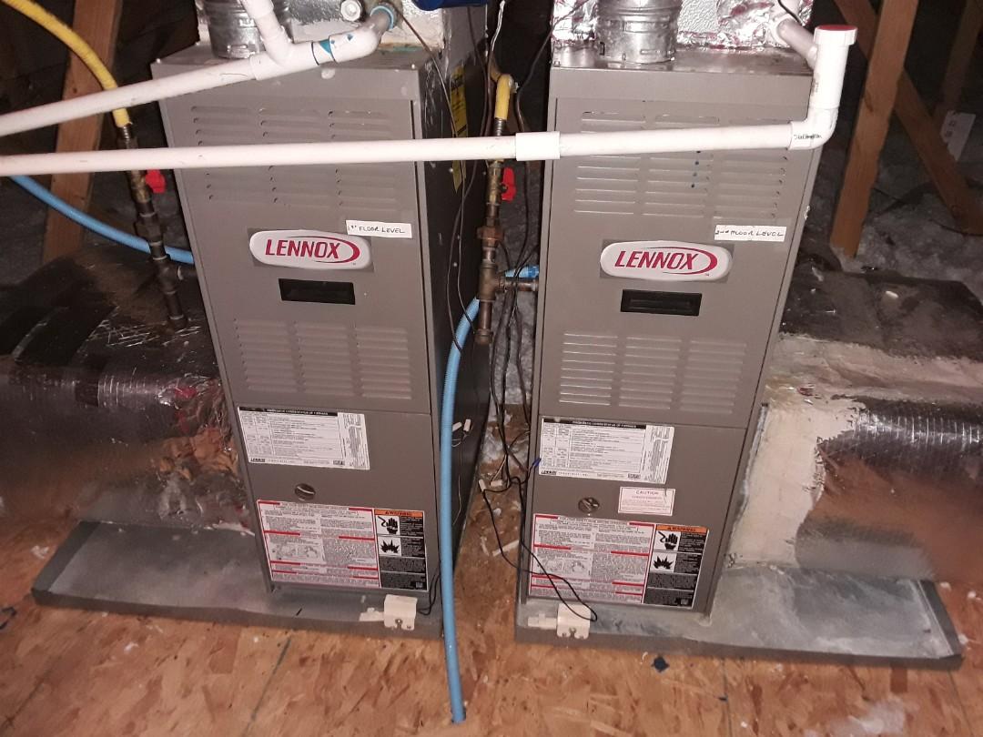 Marietta, GA - Performed Heat Maintenance on 2 Lennox furnaces. Marietta