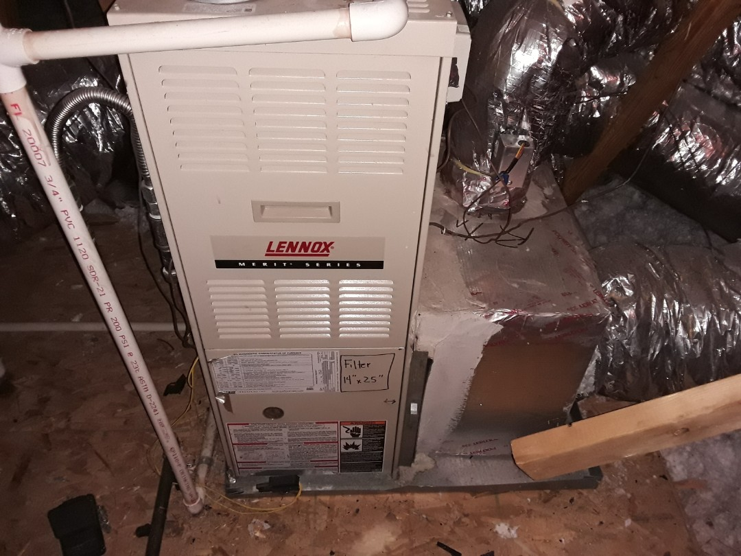 Mableton, GA - No Heat on a Lennox furnace. Found issue, made repairs and restored Heat operation.  Mableton