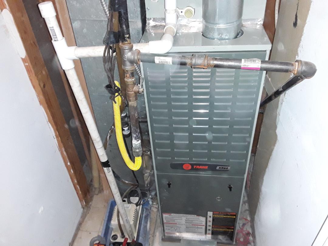 Marietta, GA - Performed Heat Maintenance on 2Trane Furnaces. MARIETTA