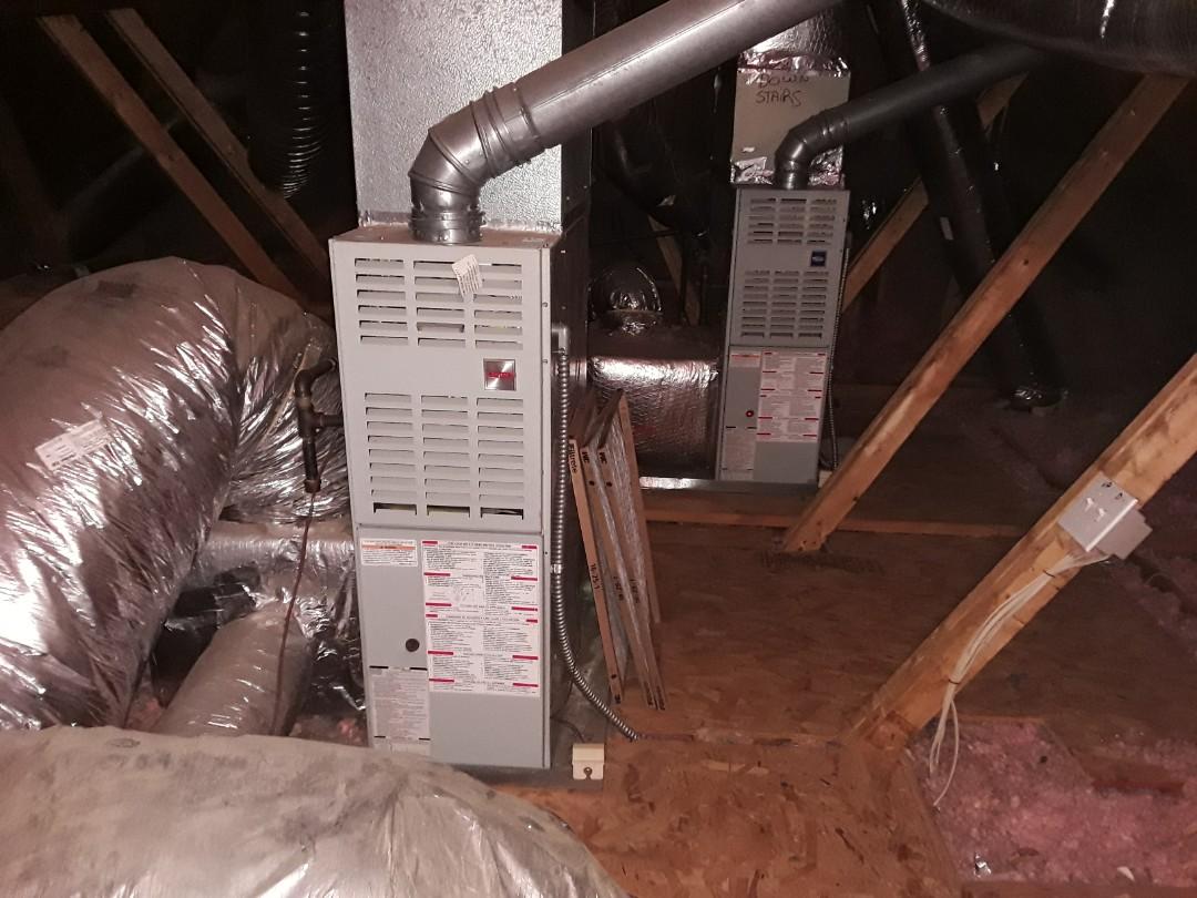 Acworth, GA - Performed Heat Maintenance on 2 Carrier  furnaces. Acworth