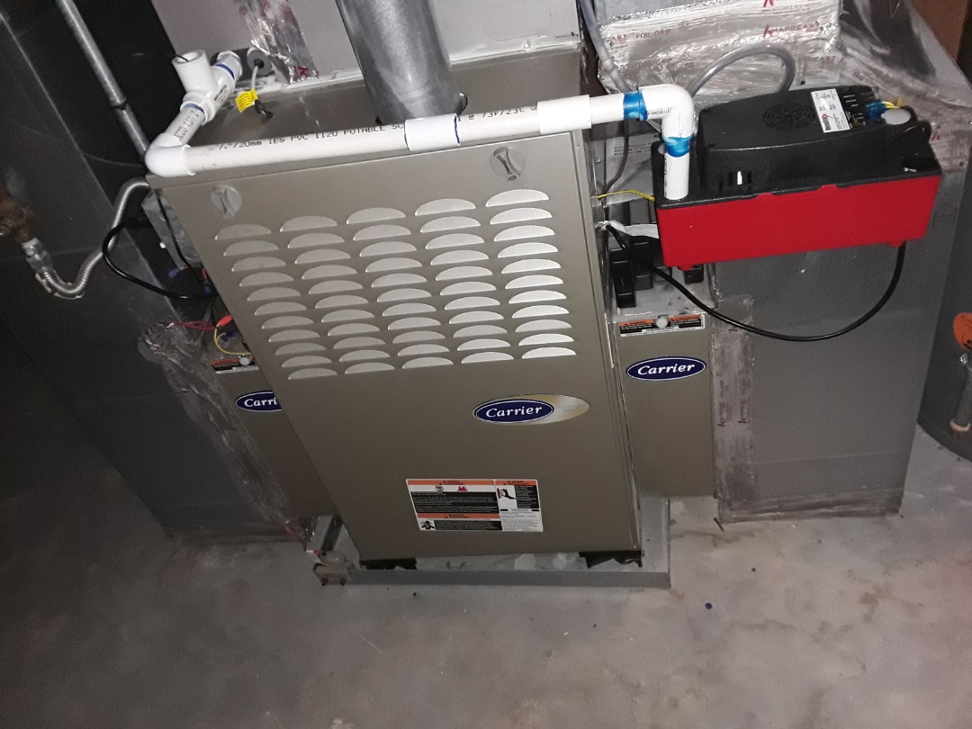 Kennesaw, GA - Performed Heat Maintenance on a Variable Carrier Furnace. Kennesaw