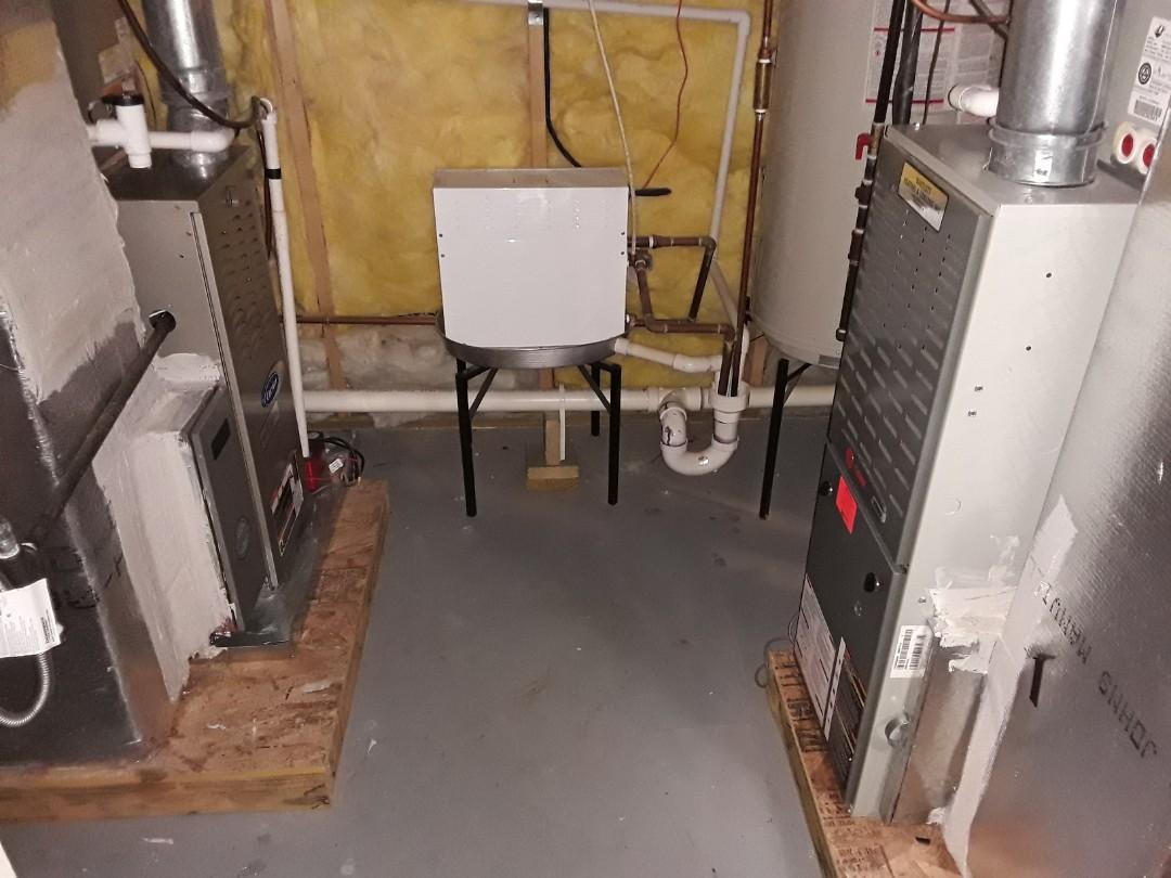 Acworth, GA - Performed Heat Maintenance on a Carrier Infinity Furnace, Trane and Ruud Furnaces. Acworth