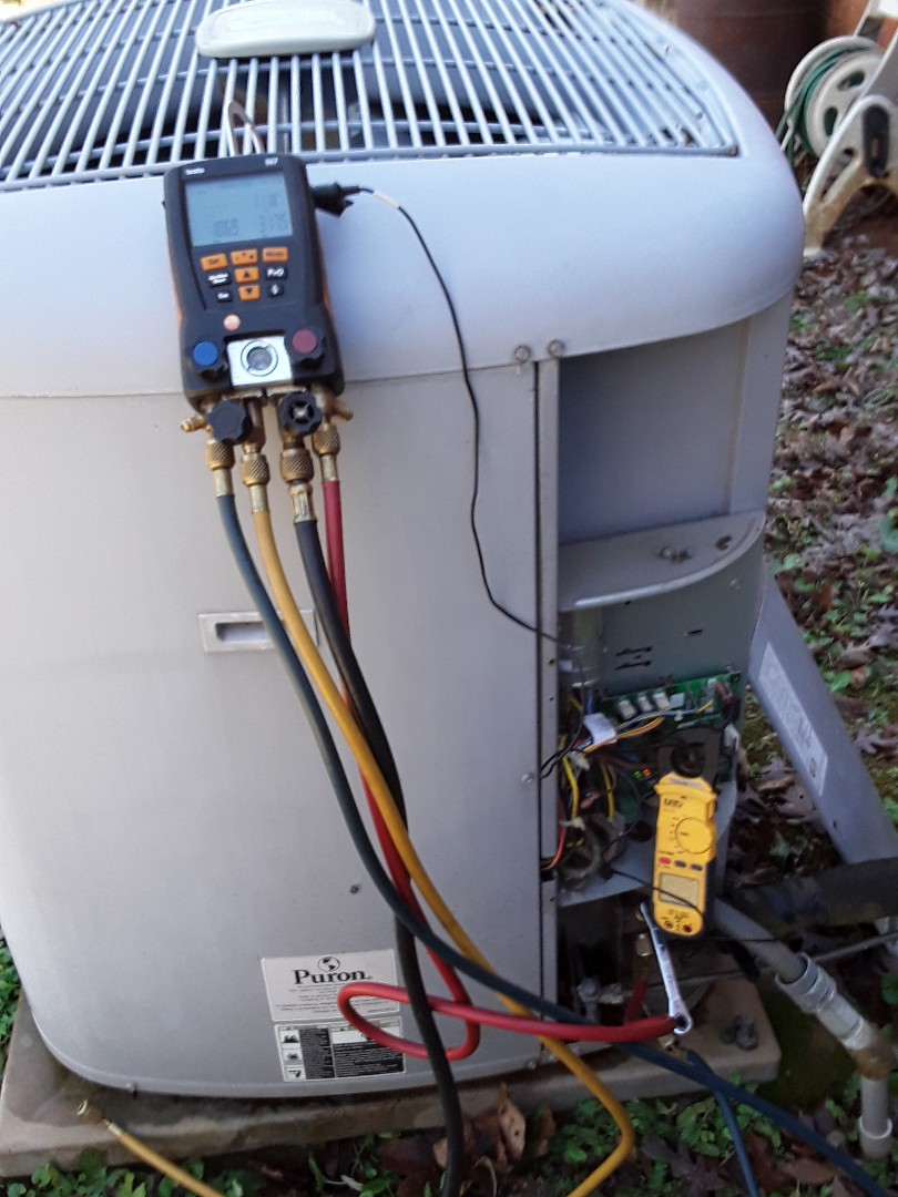 Smyrna, GA - Heat pump inspection
