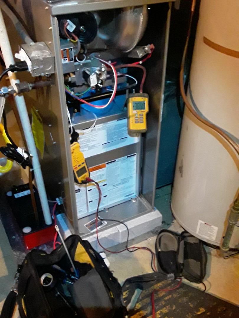 Smyrna, GA - Furnace inspection