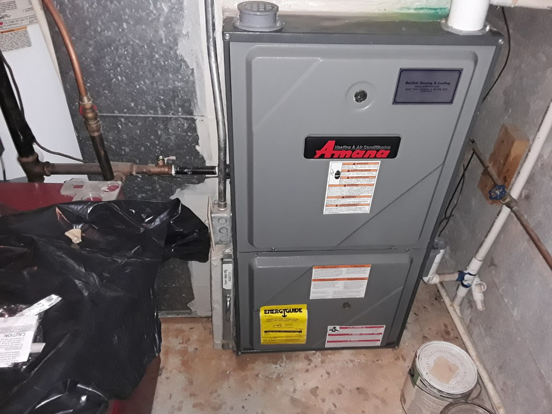 Acworth, GA - Performed Heat Maintenance on a Amana/Goodman furnace. Acworth