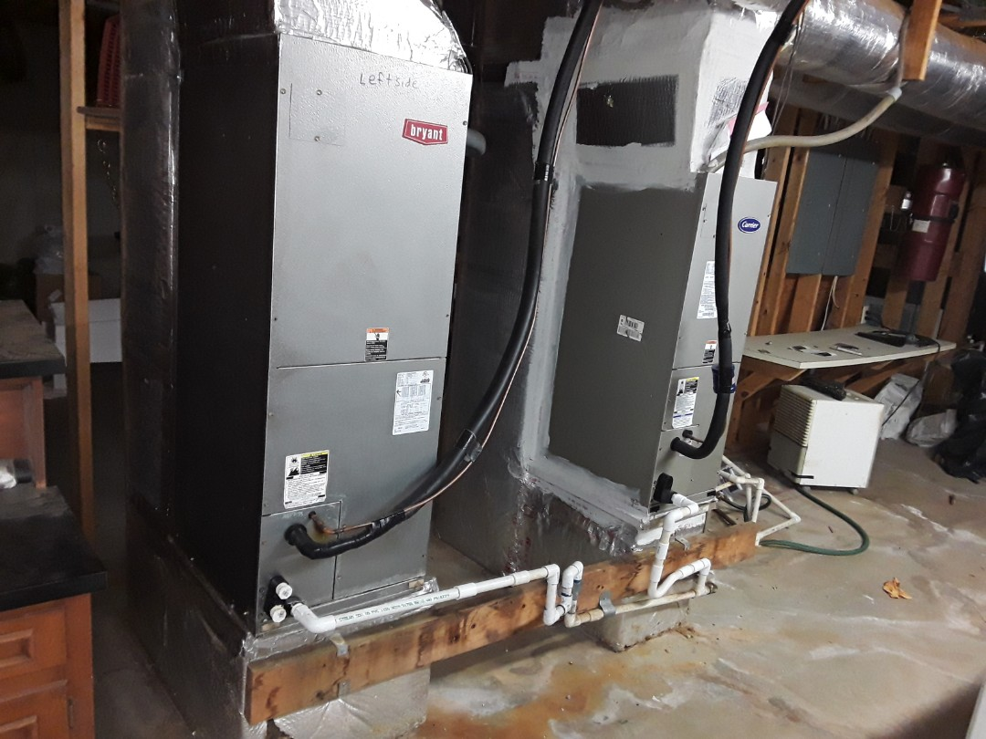 Powder Springs, GA - Performed Heat Maintenance on 3 Carrier Heat Pump systems. Powder Springs.
