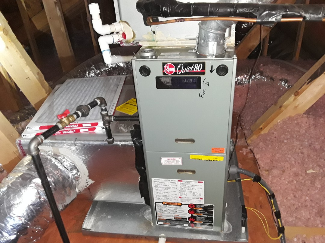 Acworth, GA - Performed Heat Maintenance on a Amana furnace.  Acworth