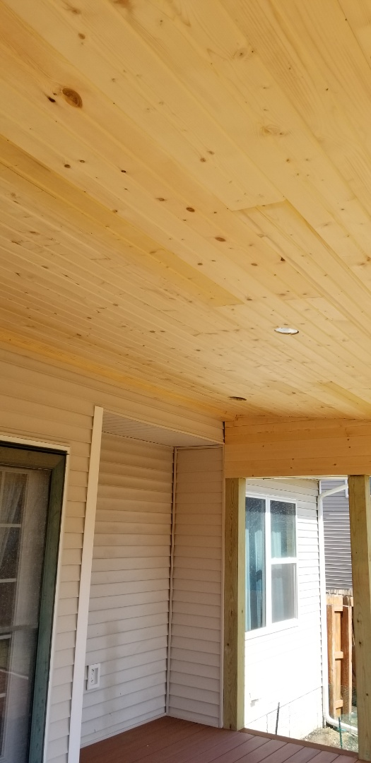 Urbandale, IA - Just finished installing this pine car side