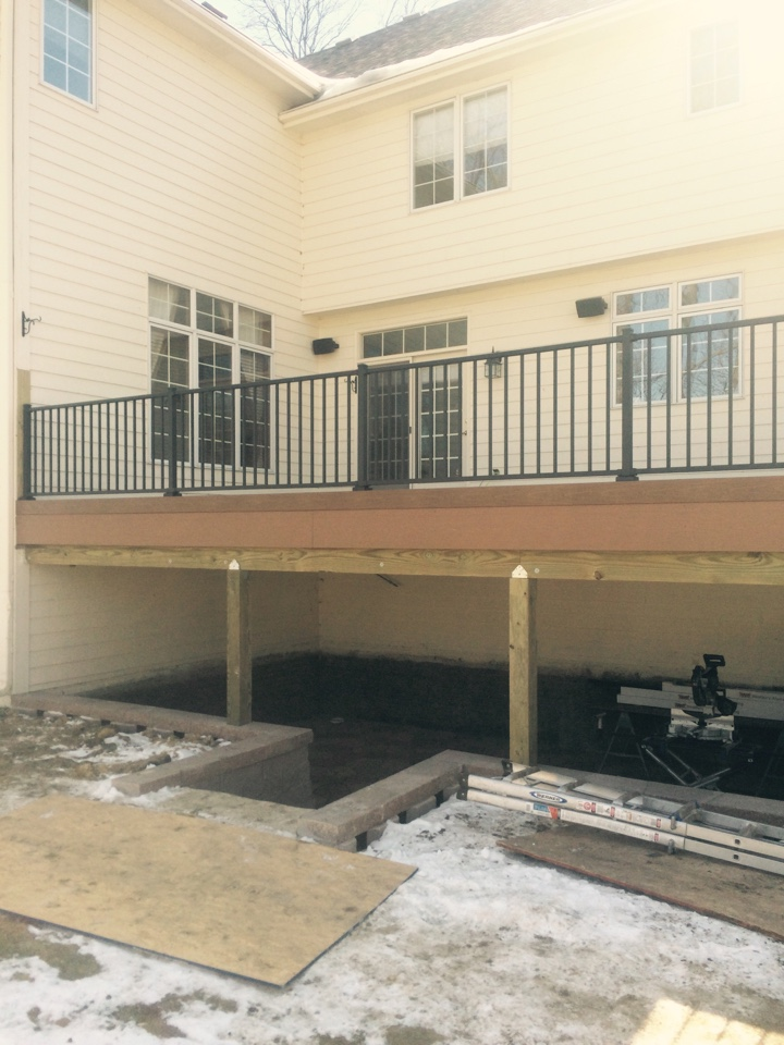 Clive, IA - Getting closer to completing this major outdoor living project