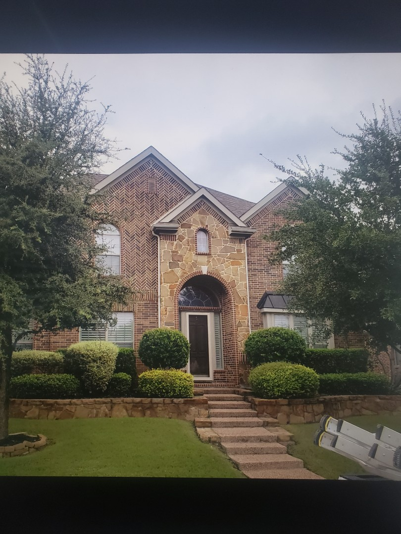 Frisco, TX - Replaced a hail damaged roof back to 100%
