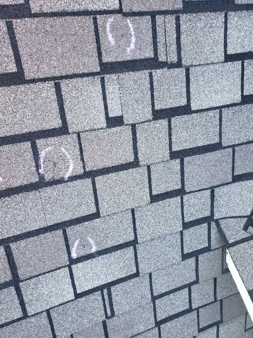 The Colony, TX - Designer shingles. Hail. Weather. Wind. Damage. Impact resistant. Water damage.