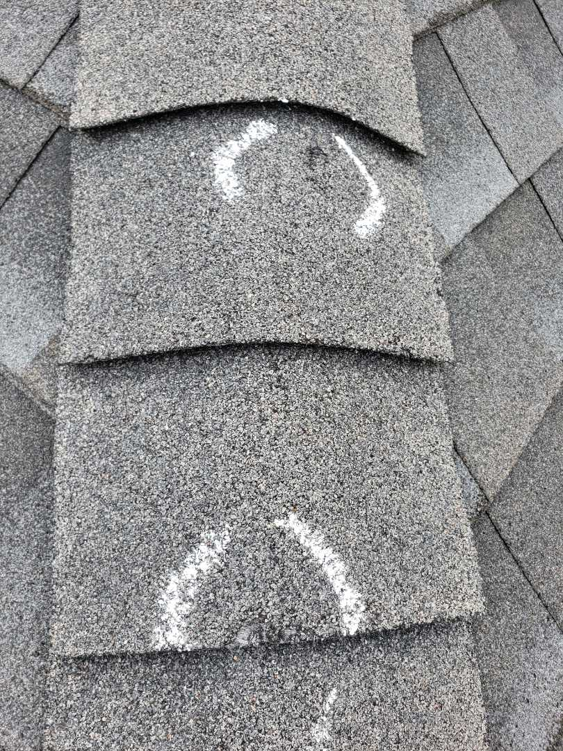 Plano, TX - Hail damage. Roof replacement. Onyx black shingles. Insurance claim. Inspection.