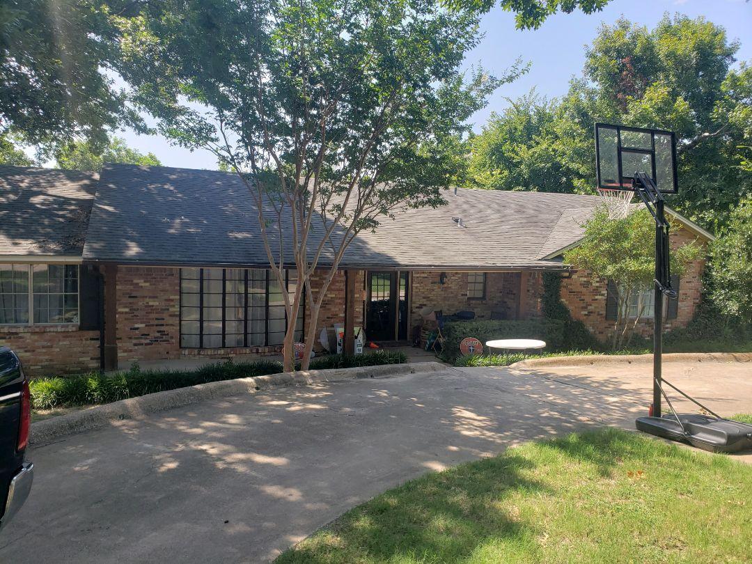 Dallas, TX - Storm damage. Free estimate. Siding replacement. Roof repair. New patio. Interior leak.  Interior repairs. Foundation repair.
