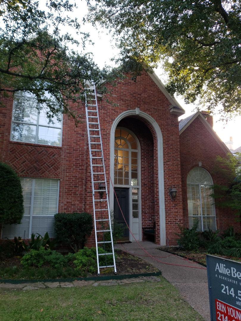 Plano, TX - Storm damage. Hail claim. Insurance claim. Interior damage. Re-roof