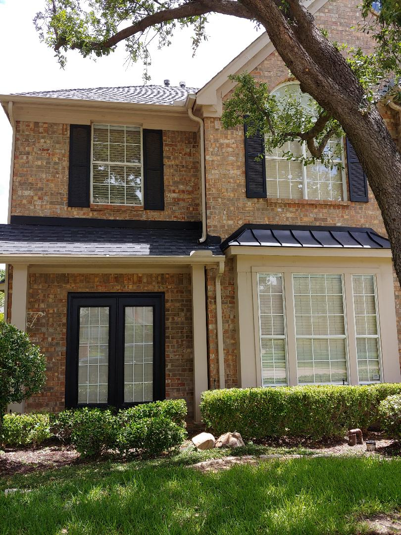 Coppell, TX - Out helping your community with its roofing concerns.  If you would like to discuss your concerns...please phone Carl @ 682.250.0026