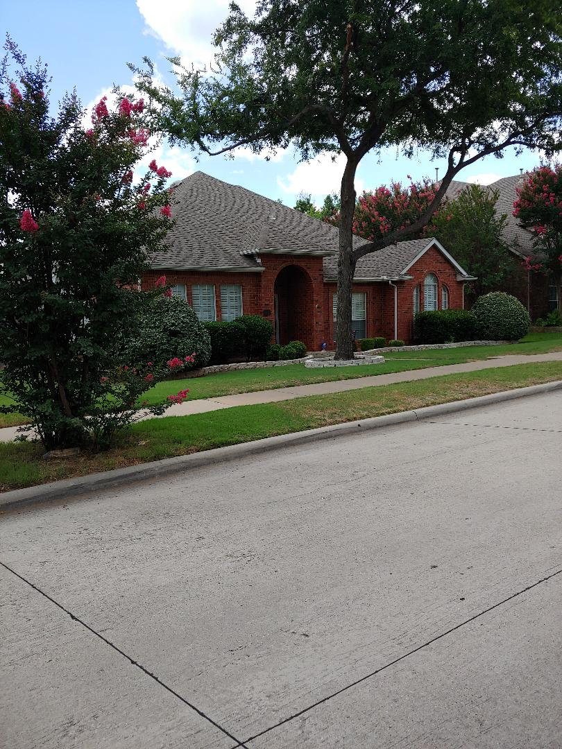 Coppell, TX - Im in your neighborhood handing out free inspections ...no obligations.   Call me...Carl @ 682.250.0026