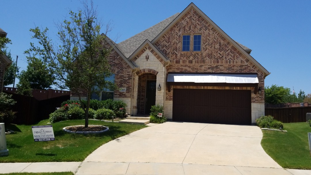 Allen, TX - 6/9/18 - Owen's Corning Estate Grey 30 yr shingle installation - New View Roofing