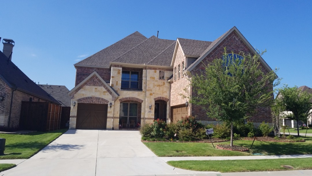 Allen, TX - 6/27/18 - Installed 30 year Owen's Corning Weathered Wood - New View Roofing