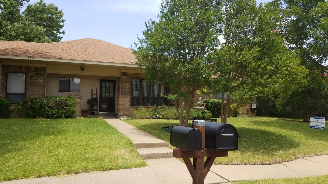 Garland, TX - 6/28/18 - Installed GAF Timberline HD brownwood 30 year warranty shingle - New View Roofing