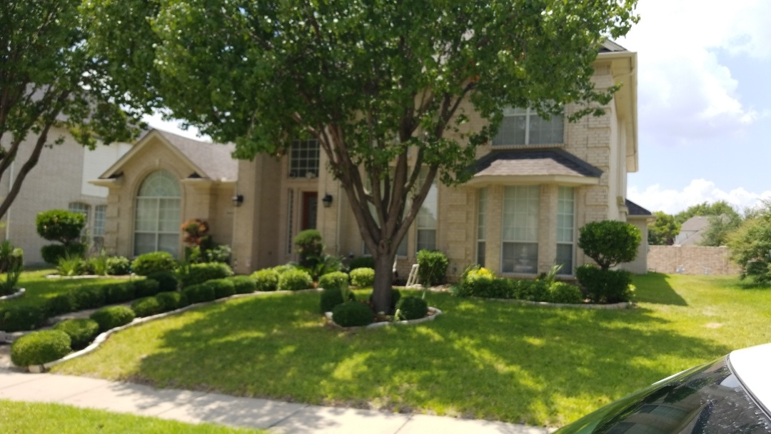 Carrollton, TX - 7/6/18 Installed Owen's Corning onyx black 30 year warranted shingle - New View Roofing
