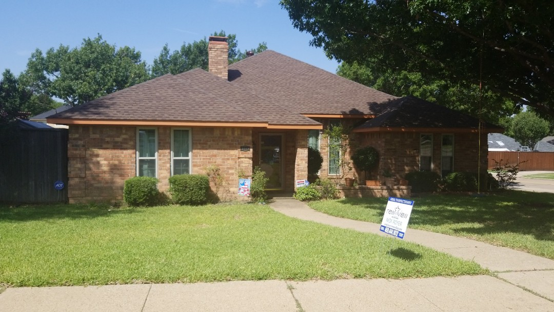 Carrollton, TX - Full shingle replacement and upgrade - GAF Timberline Barkwood 30 year