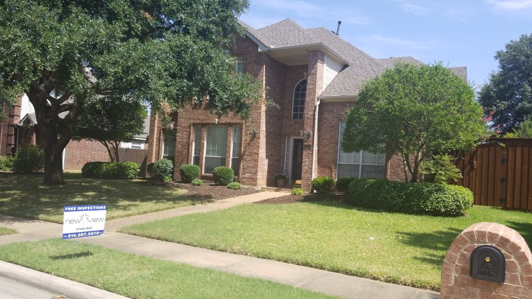 Carrollton, TX - Full roof replacement- installed GAF timberline HD weathered wood 30 year