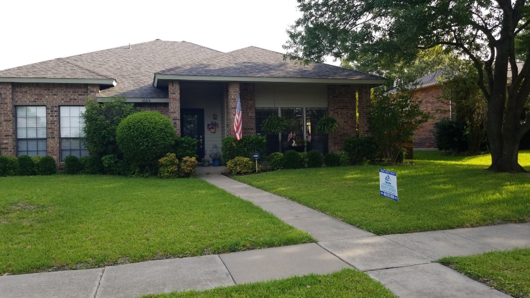 Plano, TX - Complete Roofing replacement. Installed landmark certainteed weathered wood 30 year shingle