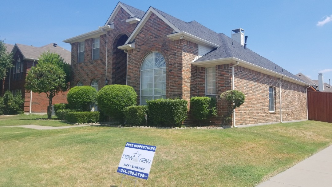 Carrollton, TX - Complete roof replacement-  installed GAF Timberline HD 30 year onyx black shingle