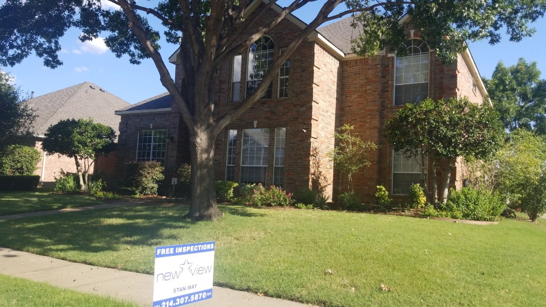 Carrollton, TX - Complete roof replacement- installed gaf timberline hd weathered wood 30 year warranty shingle